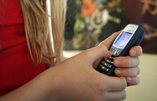 Scriver SMS.