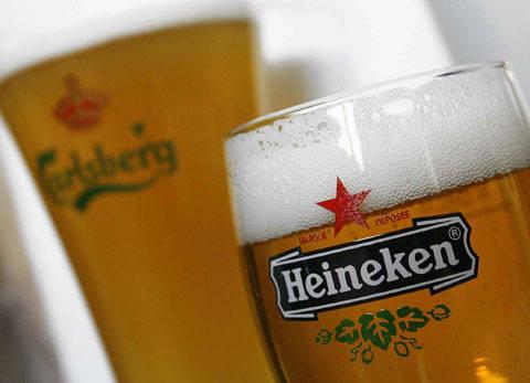 Heineken, ina gervosa da la Belgia.