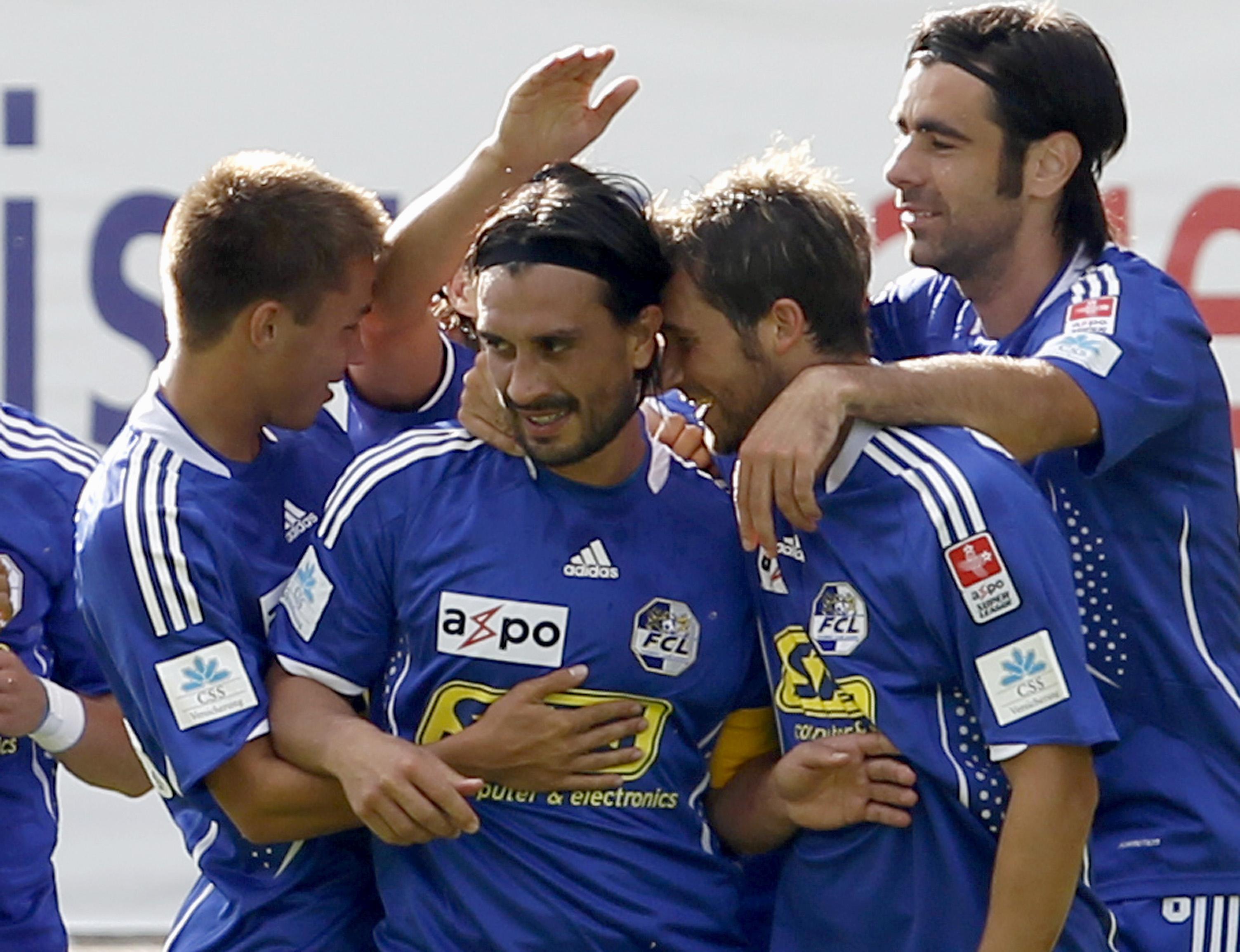 Igl FC Lucerna è actualmain sin il segund plaz da la Super League.