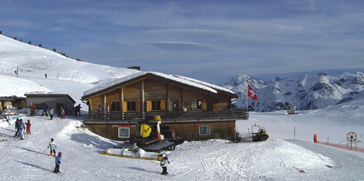 L'Alp da Munt en il territori da skis Minschuns.