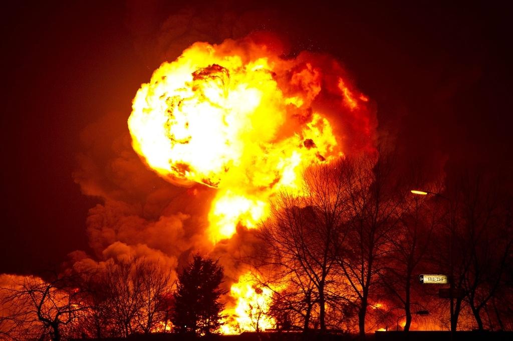 Var 10'000 kilos material explosiv èn vegnids confiscads. (maletg simbolic)