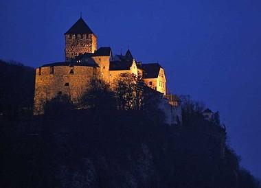 Il chastè da Vaduz en il Principadi da Liechtenstein.