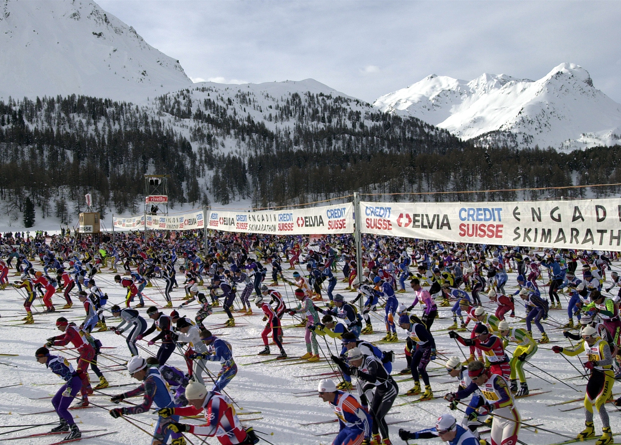Il 44avel maraton d'Engiadina ha entschet.