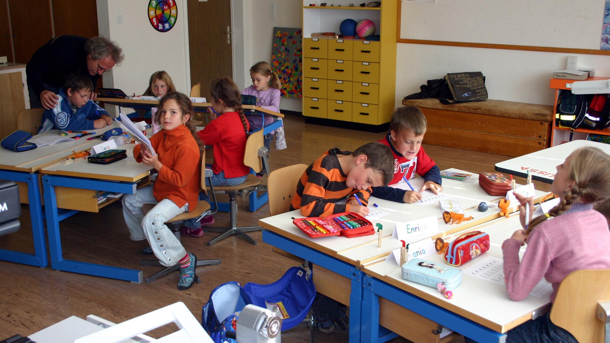 En scola a Val Müstair.