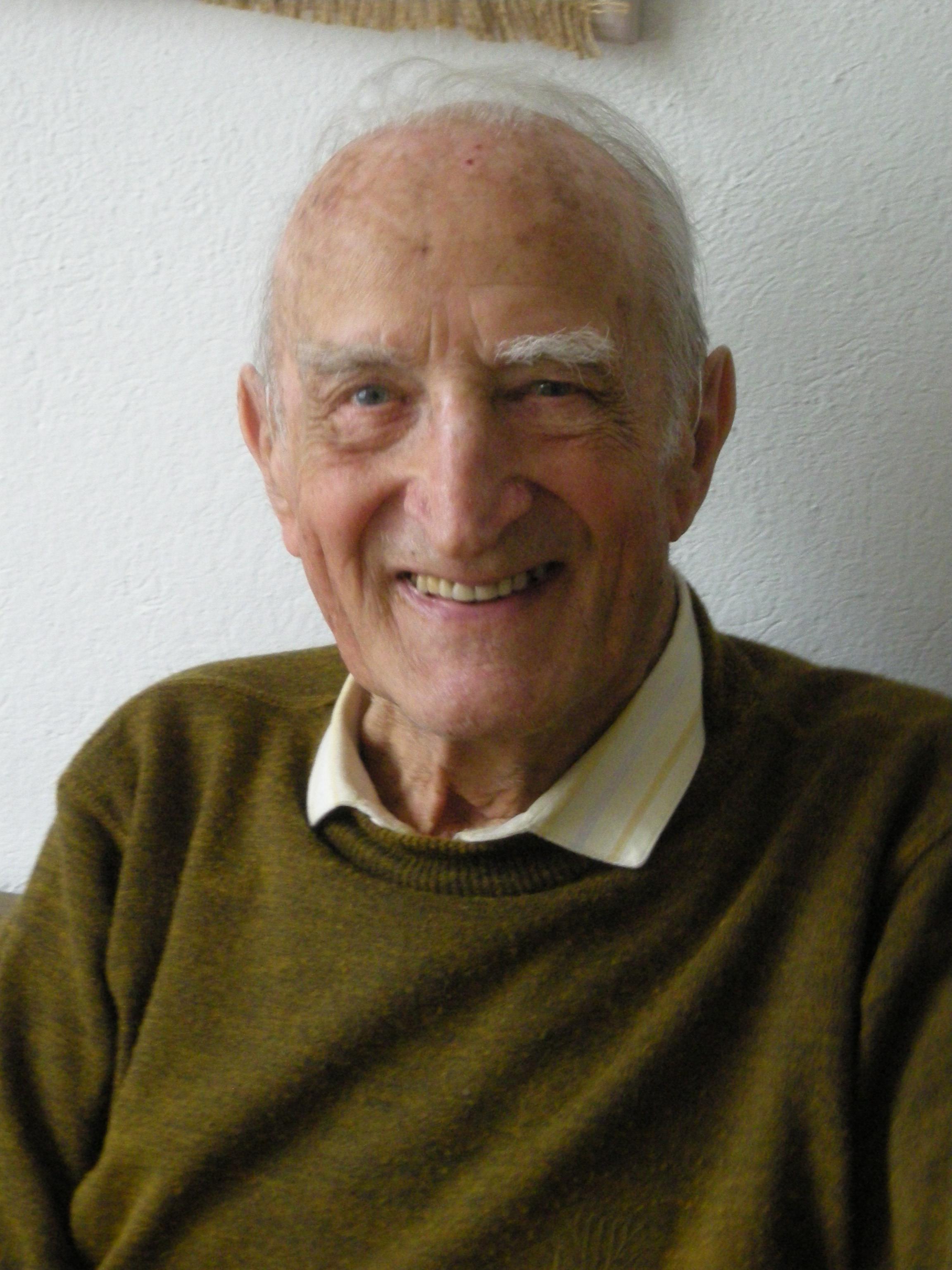 Gion Peder Thöni, il scrivent surmiran.