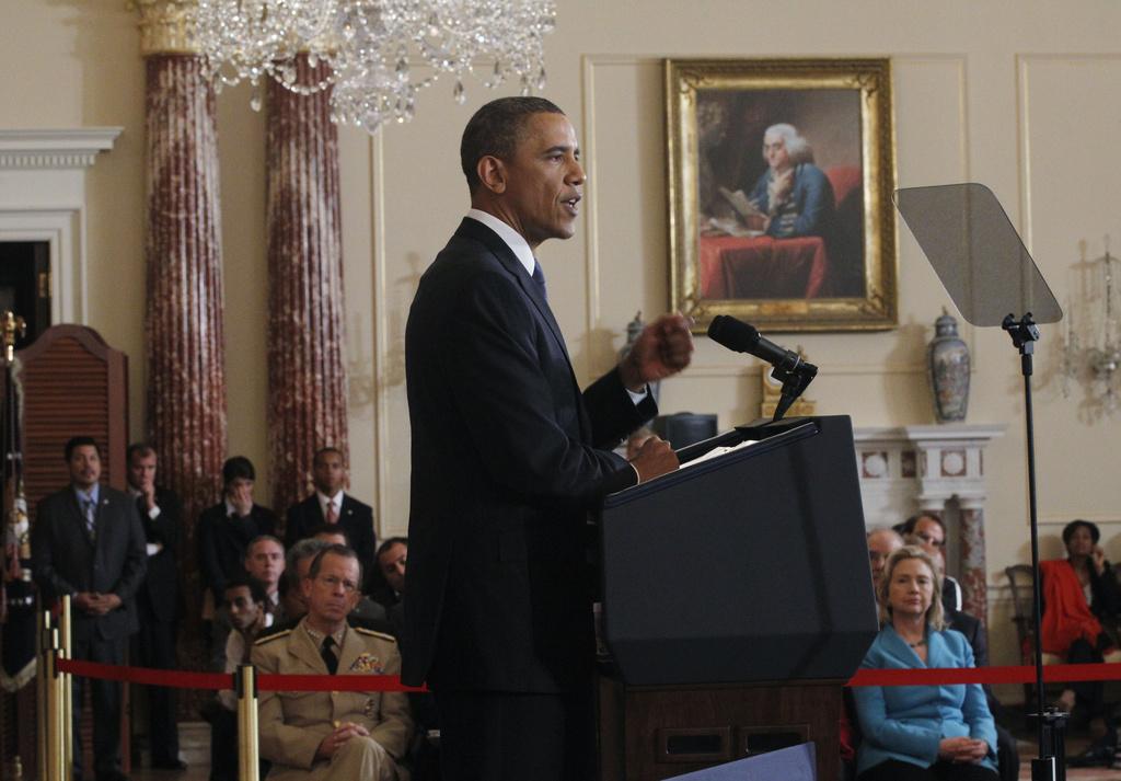 Tenor Barack Obama, il president american, vegna la Cuba sclausa ord l'inscunter perquai che la Cuba na resguardia, tranter auter, betg ils dretg umans.