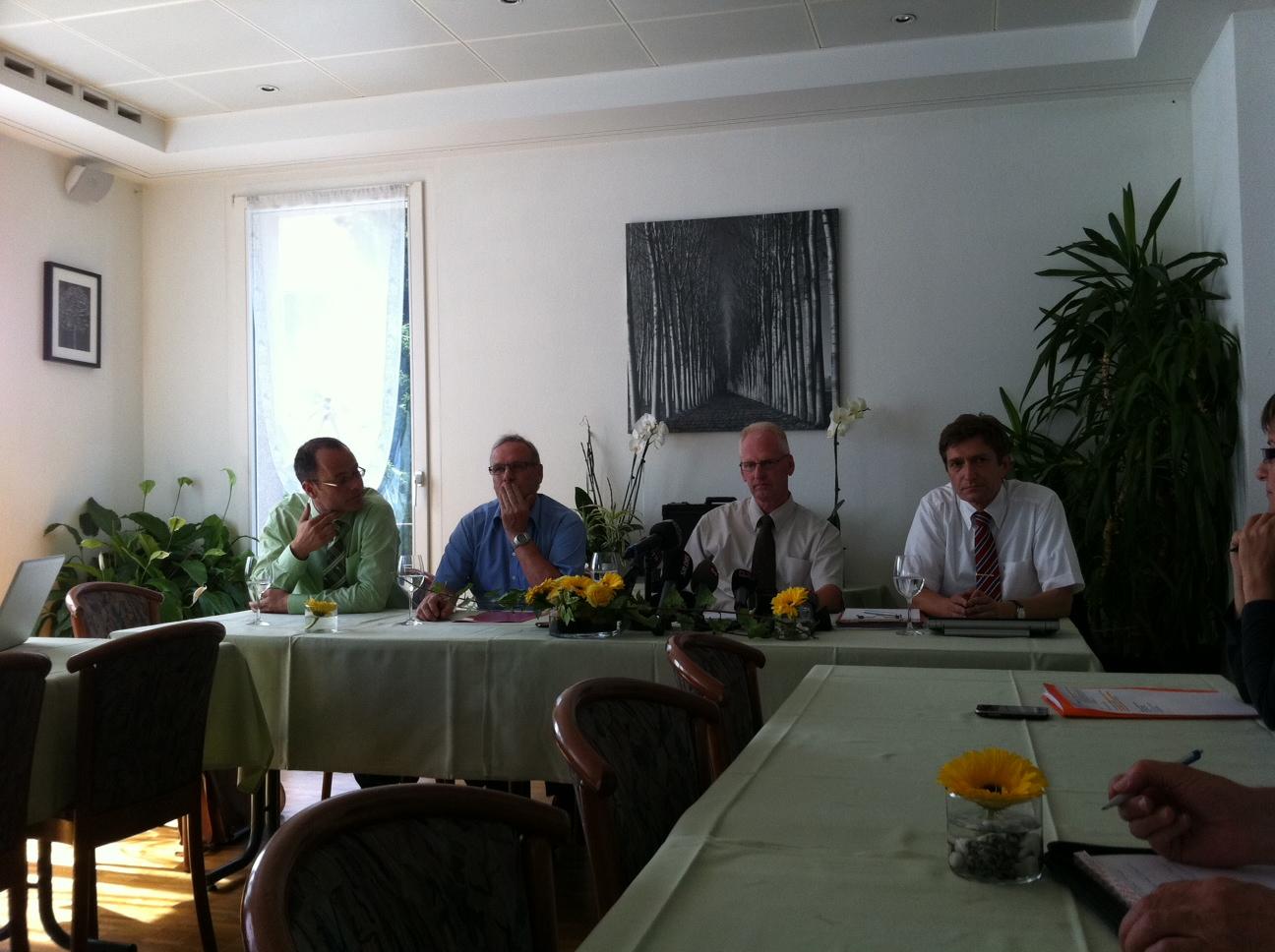 Philipp Annen, Ueli Ardüser, Beat Caluori e Markus Weidemann.