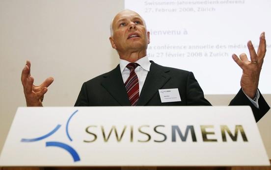 Hans Hess, il president da Swissmem, l'associaziun da l'industria svizra da maschinas, electro e metal.
