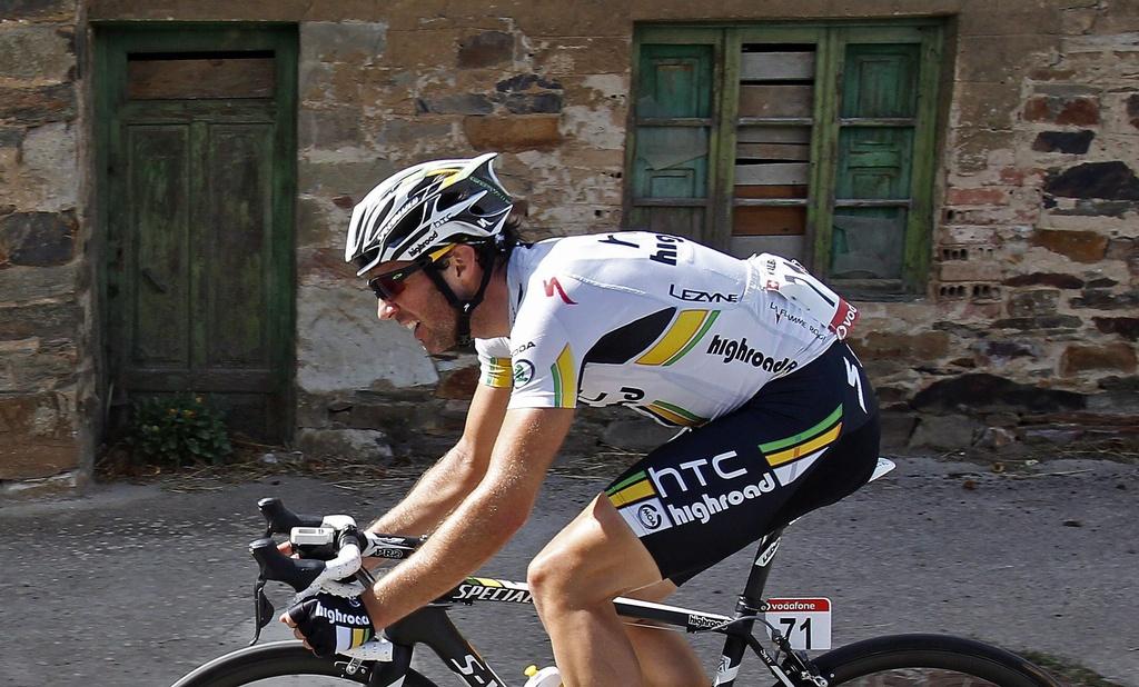 Il ciclist svizzer Michael Albasini.
