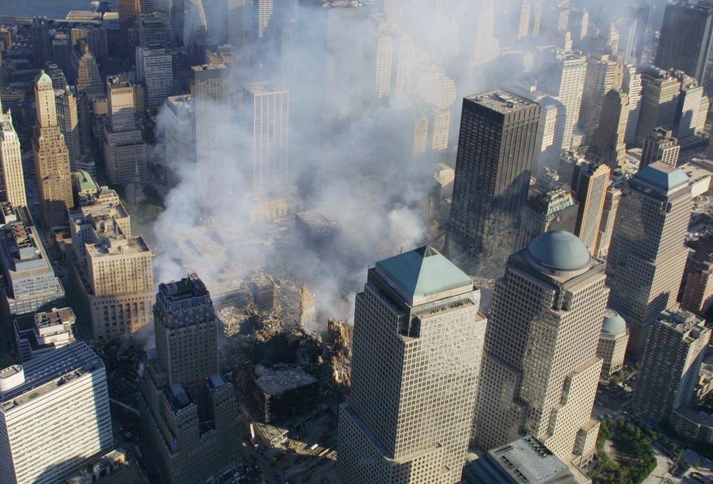 Il Ground Zero ils 11 da settember 2001.