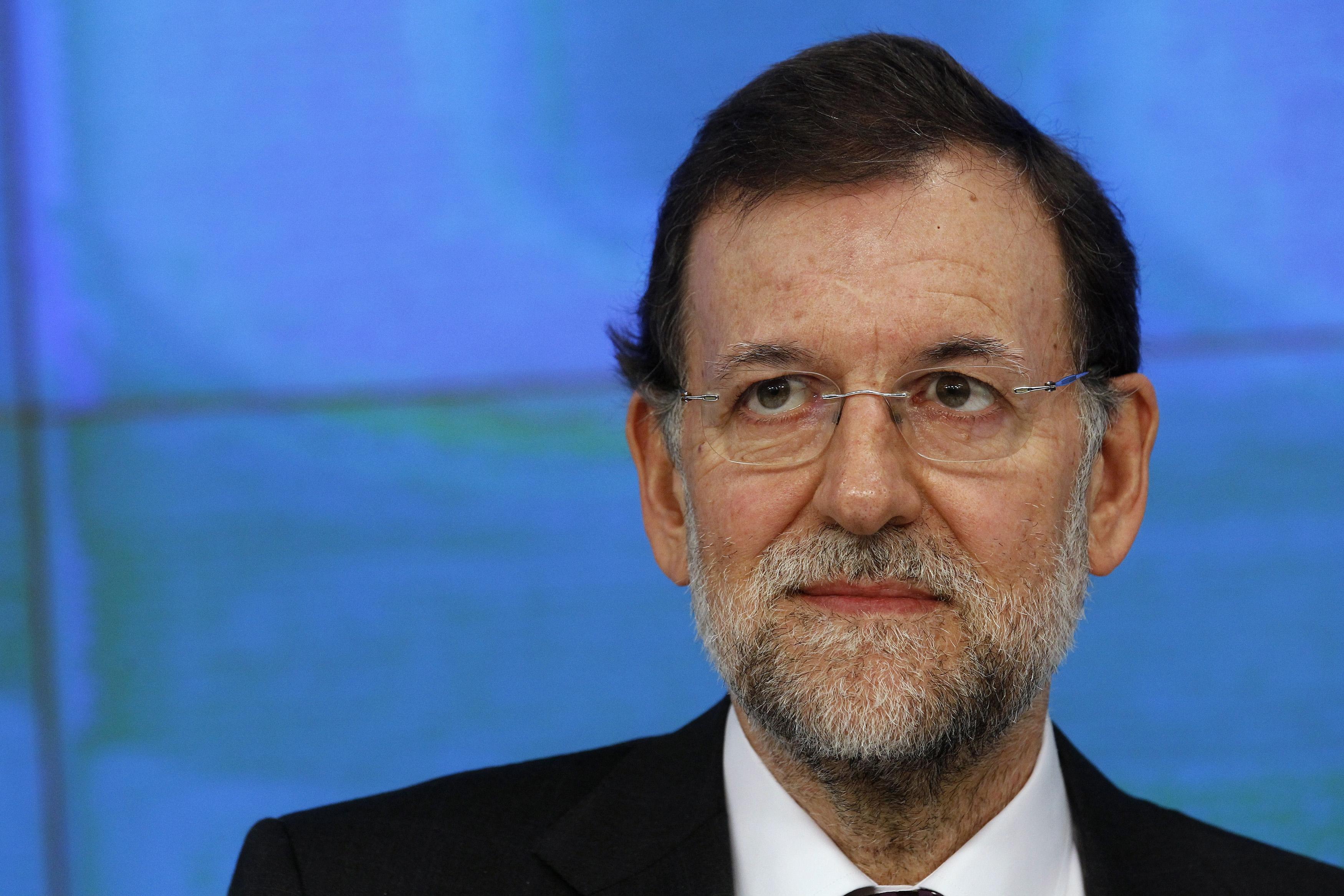 Il primminister spagnol Mariano Rajoy.