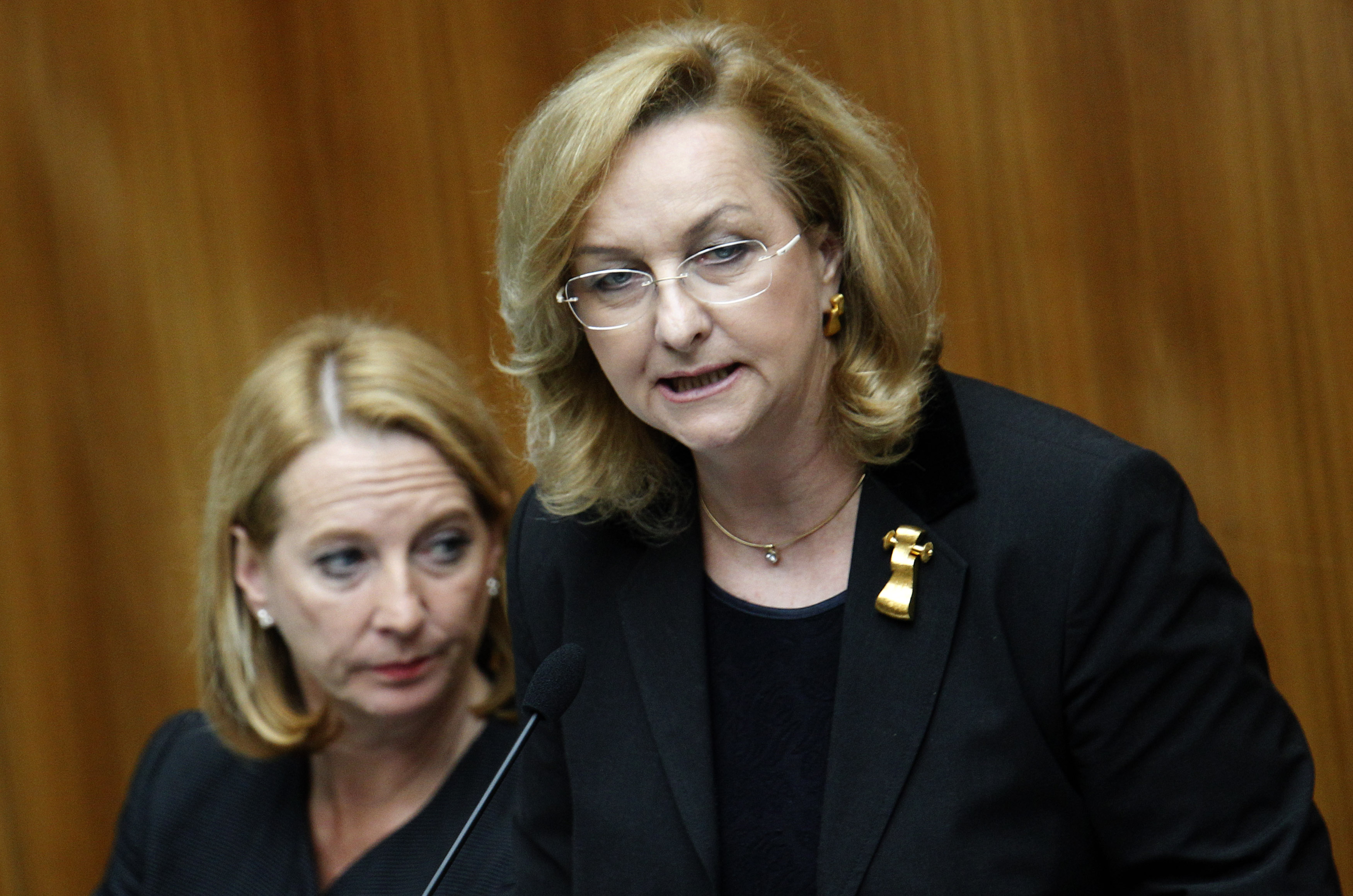 La ministra da finanzas da l'Austria, Maria Fekter.