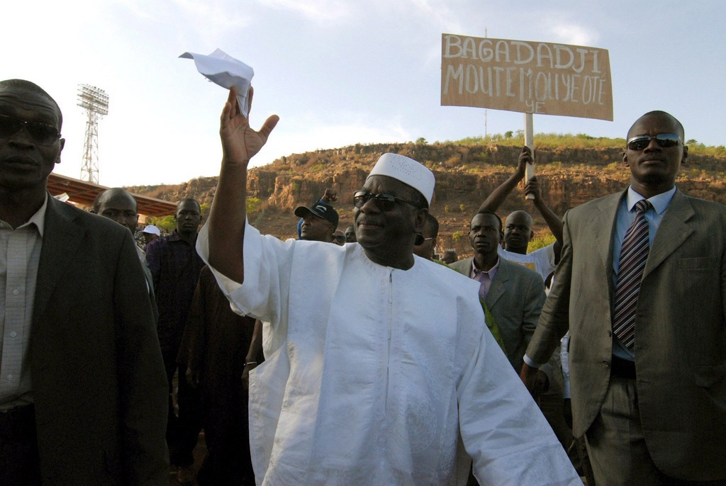 Amadou Toumani Touré - foto d'archiv dal 2007.