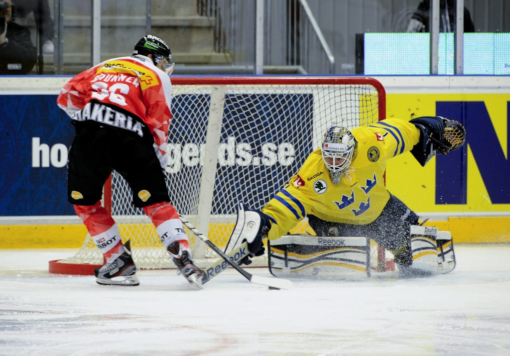 Ils Svizzers gudogna cunter la Svezia cun 4:2.