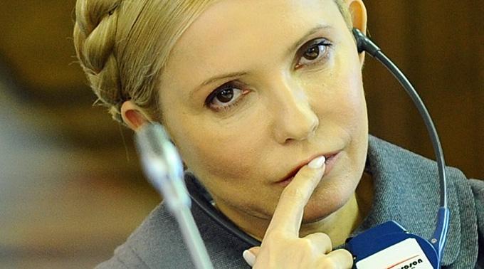 Dapi 16 dis fa Julia Timoschenko chauma da la fom.