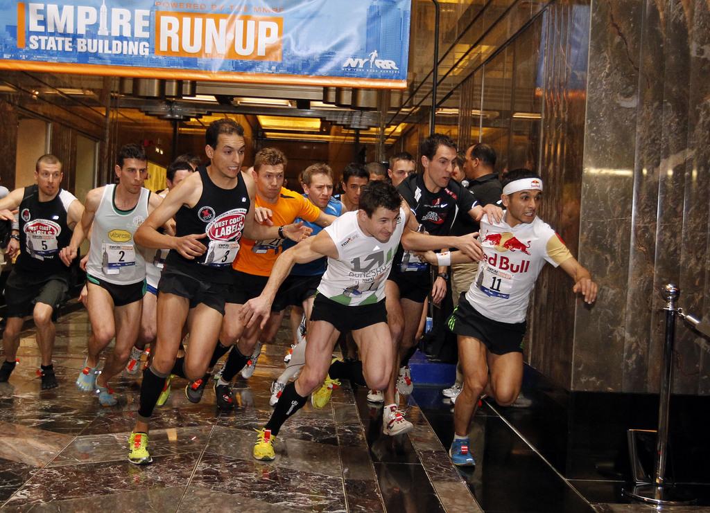Impressiun da l'Empire State Building Run-up da l'onn 2012.
