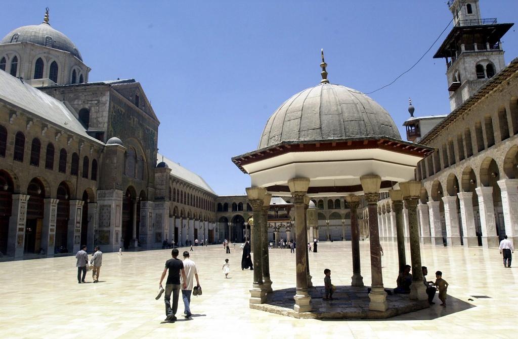 Moschea Ummayad  a Damascus.