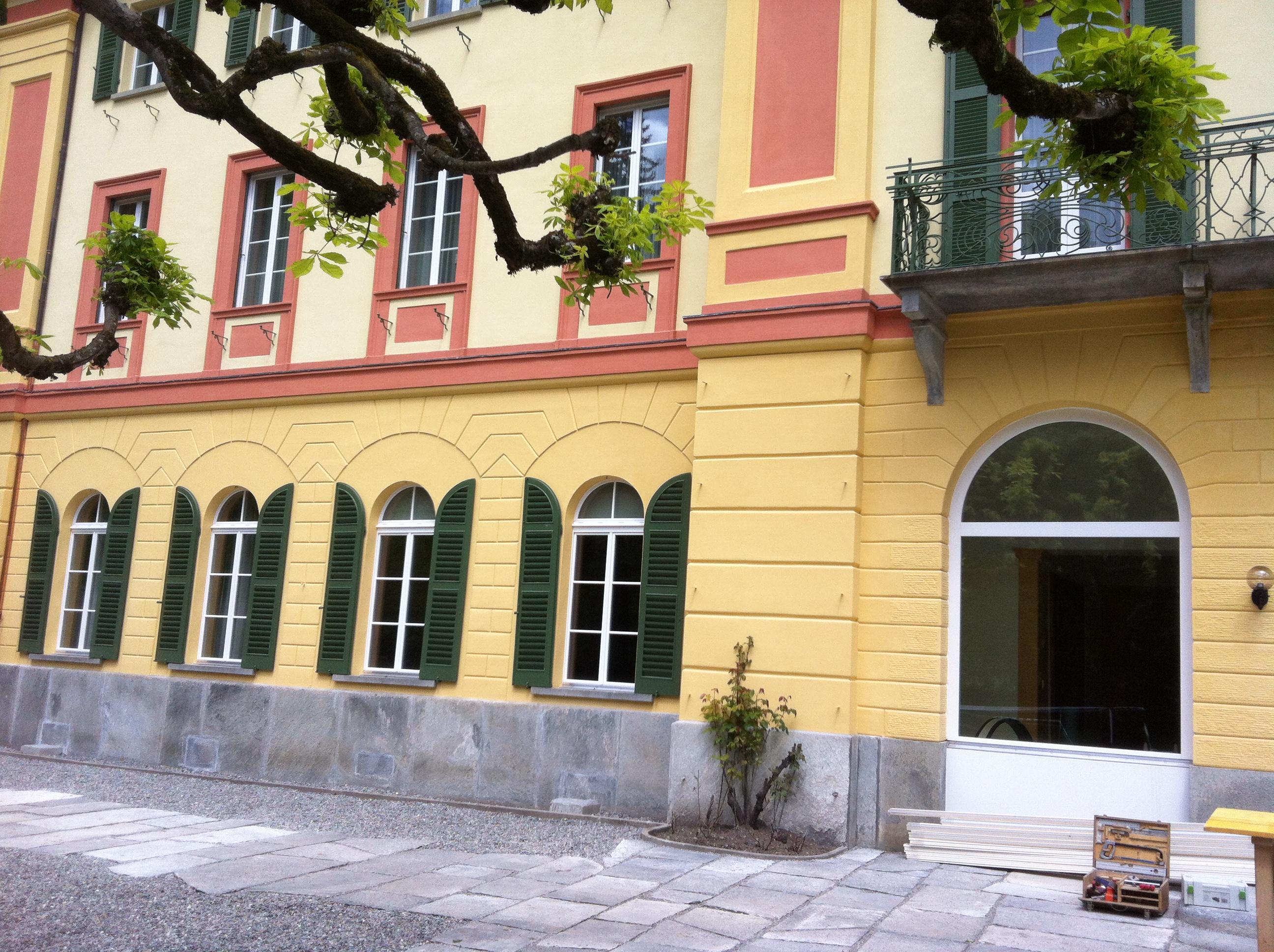 L'hotel Le Prese a la riva dal lai da Poschiavo è renovà a fin.