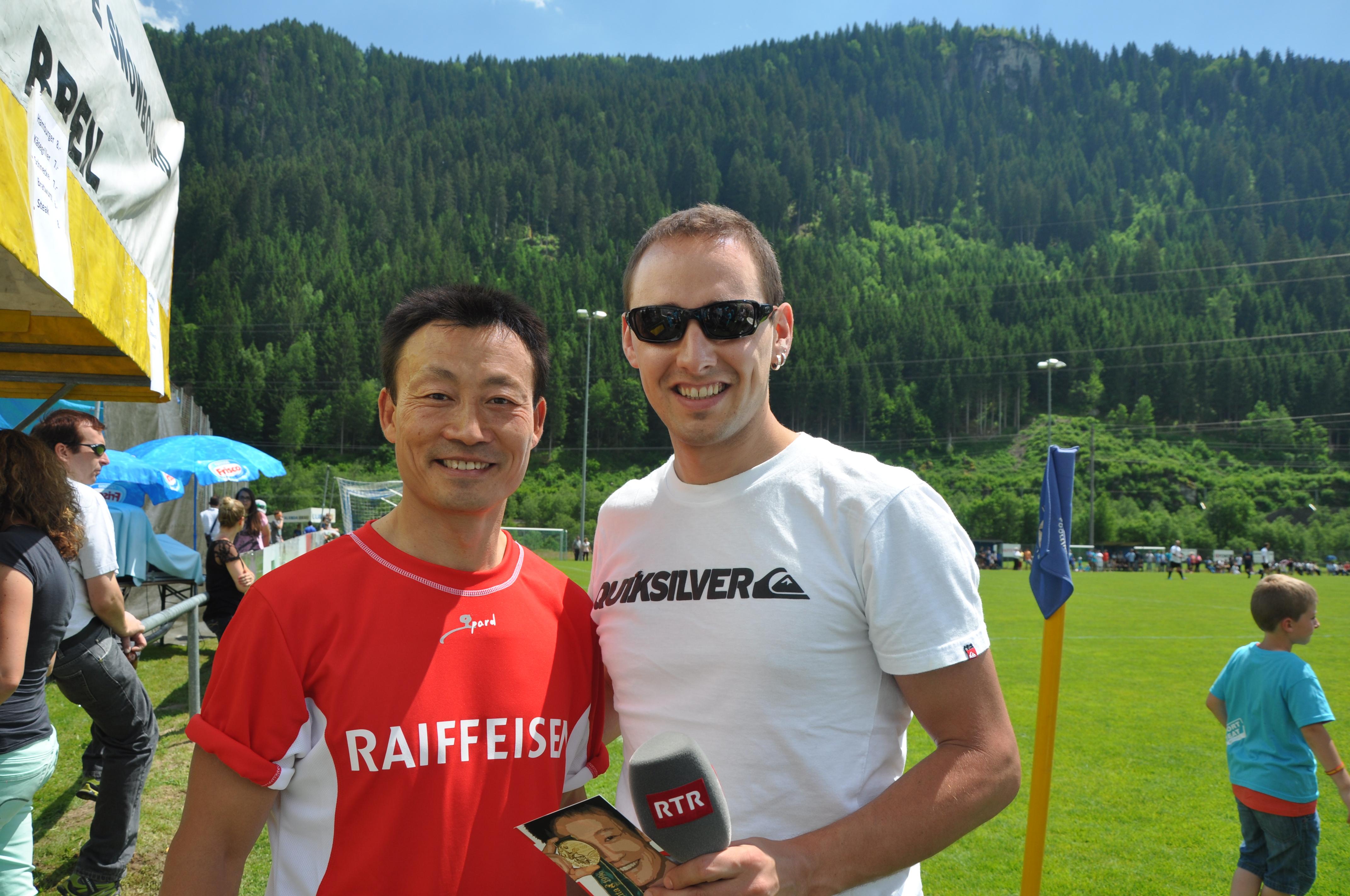 Er Donghua Li è stà da la partida. Sper el noss reporter Andreas Wieland.