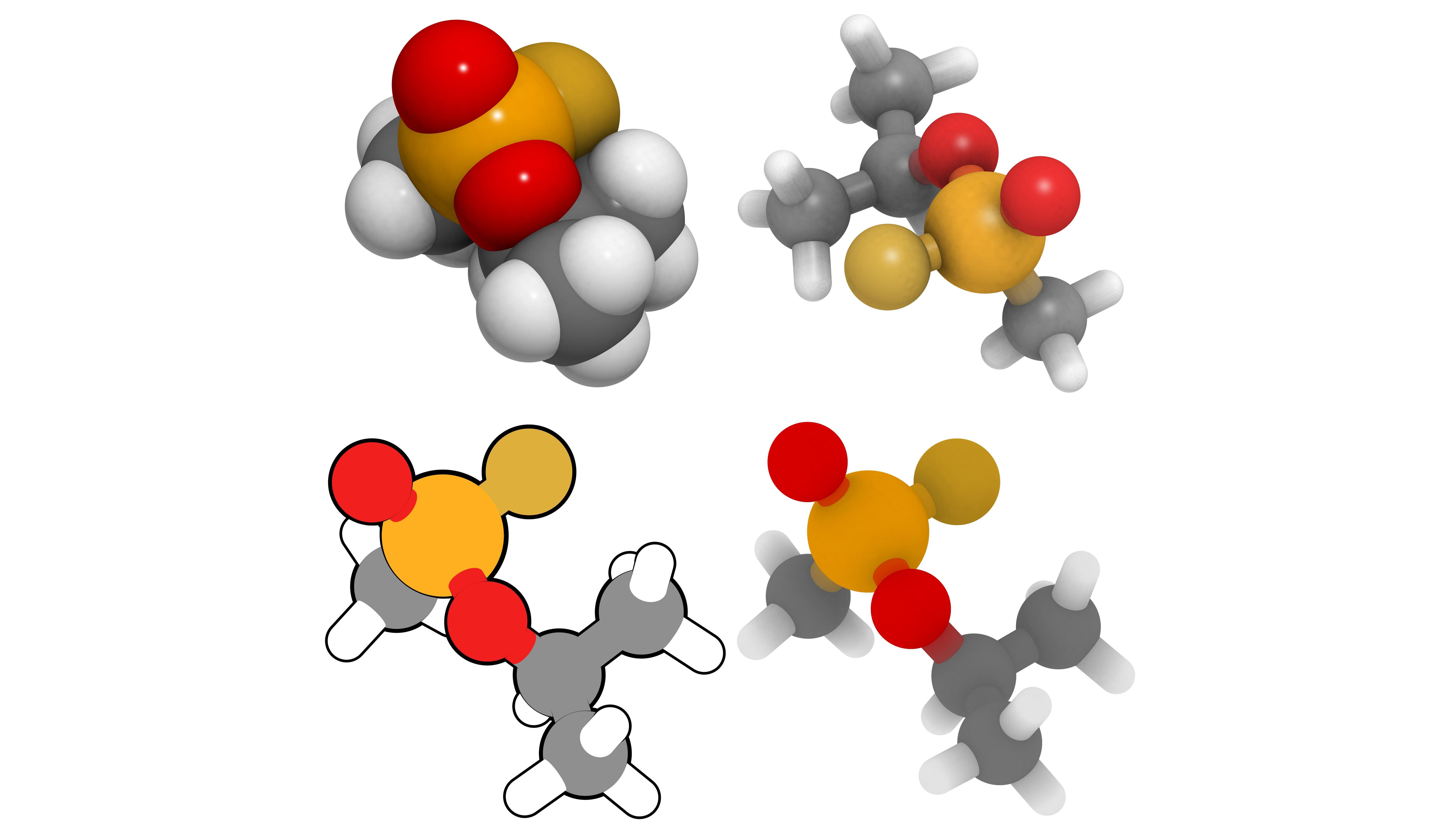 Molecul dal Sarin.