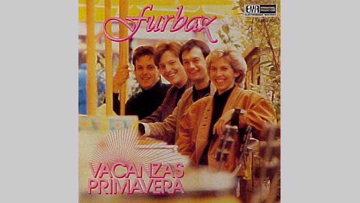 Cuverta da l'album «Vacanzas Primavera» dals Furbaz.