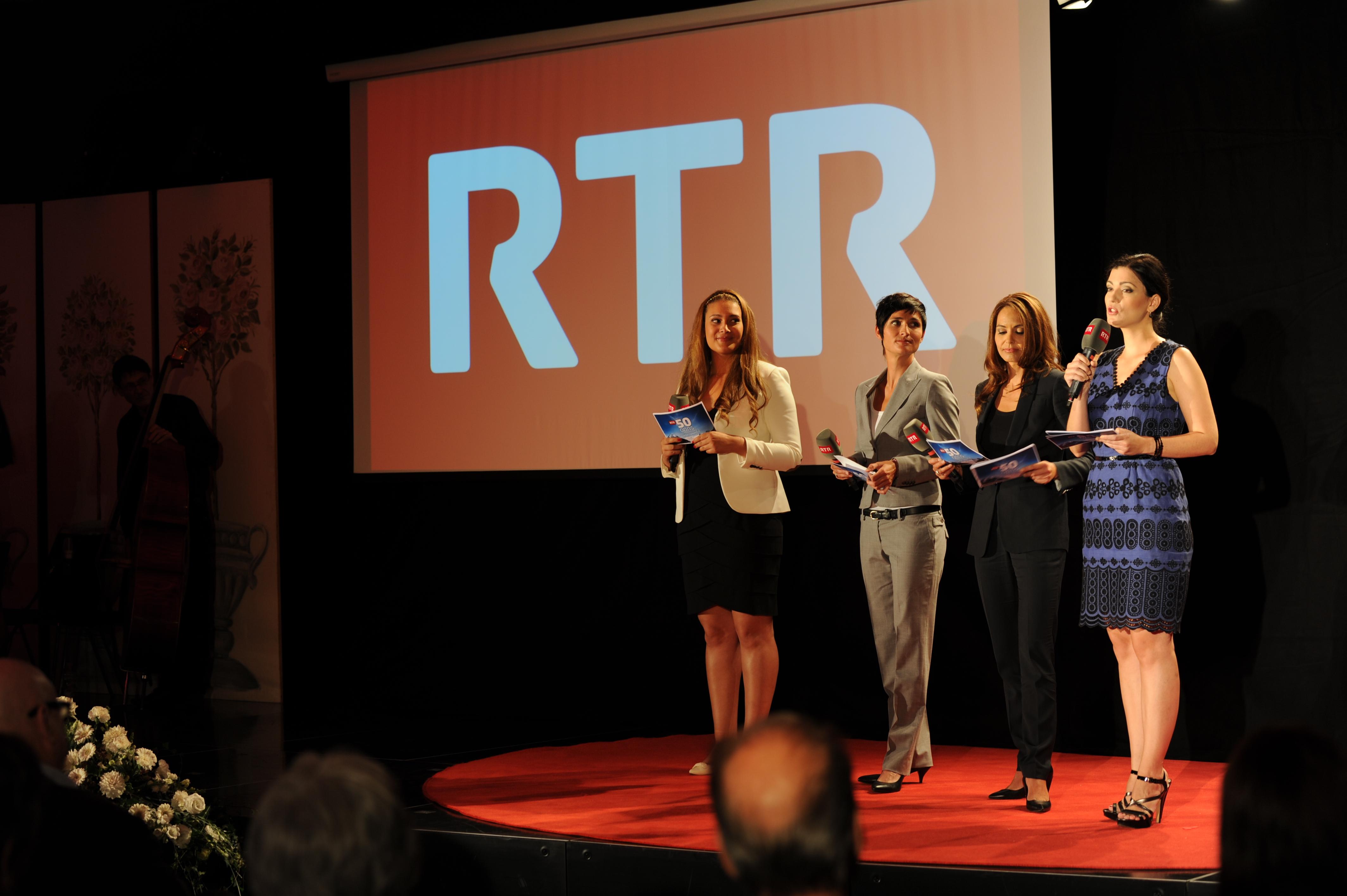Las quatter moderaturas ch'han manà tras l'act festiv: Elin Batista, Ulrica Morell, Isabella Wieland e Maria Victoria Haas.