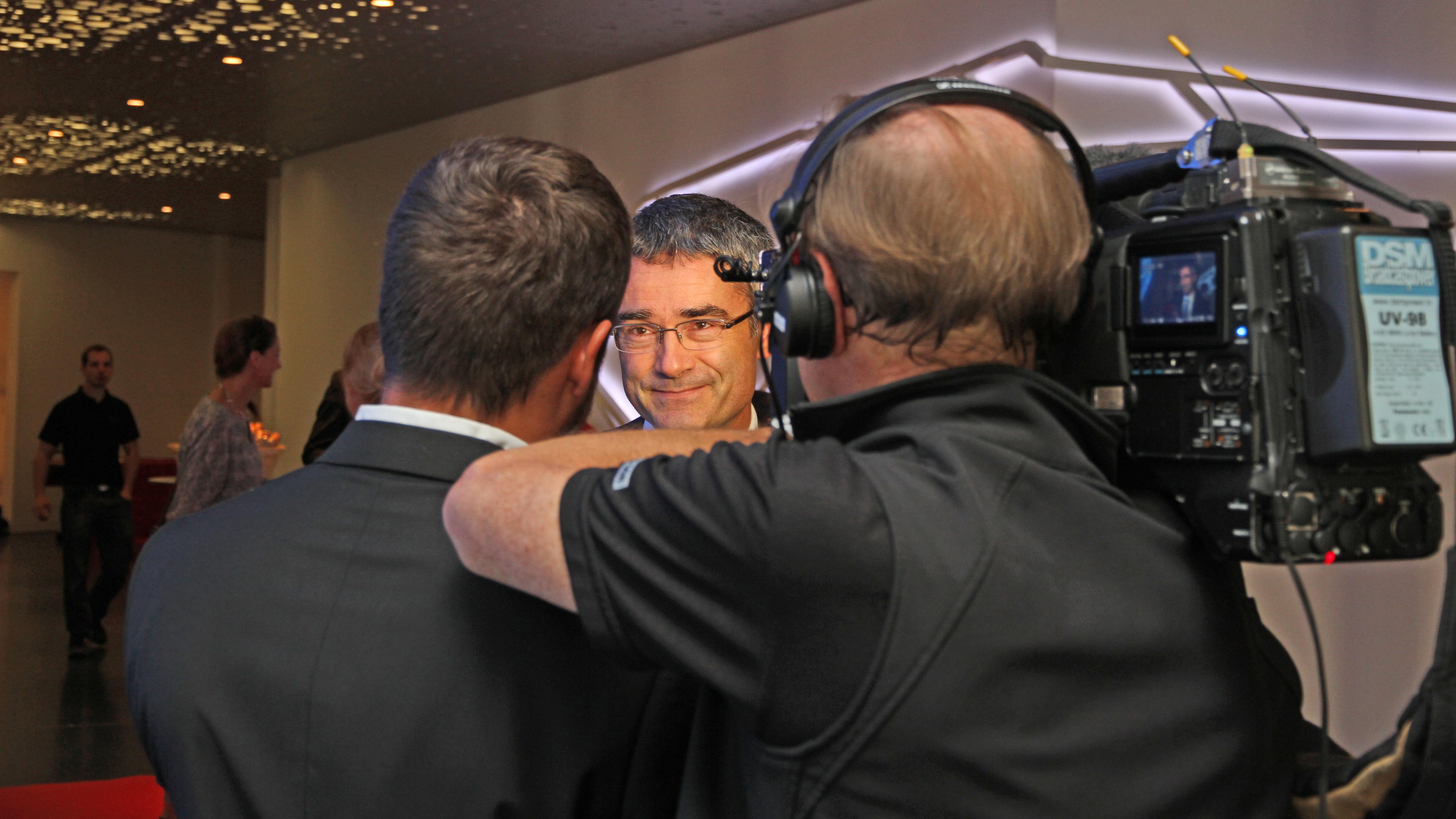 La politica ha dà pled e fatg: Il cusseglier guvernativ Mario Cavigelli.