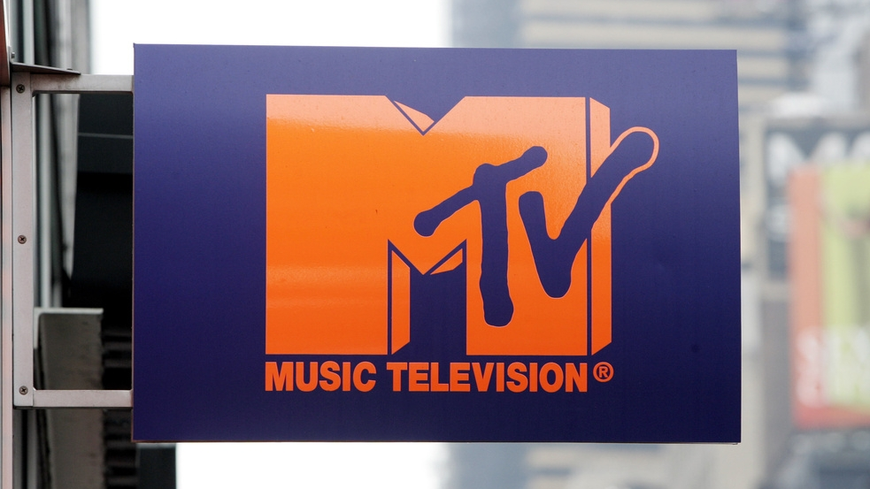 Logo dal emettur da televisiun MTV.