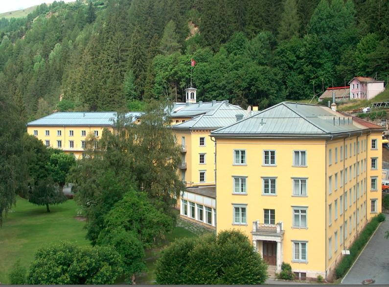 Hotel Scuol Palace.