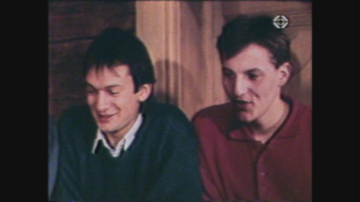 Giusep Quinter e Gion Defuns - entschatta da la carriera dals Furbaz onns 80.