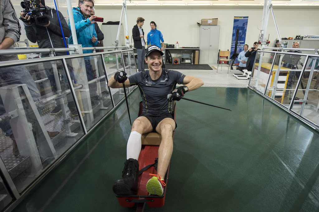 Dario Cologna sa prepara a Magglingen sin ses comeback.
