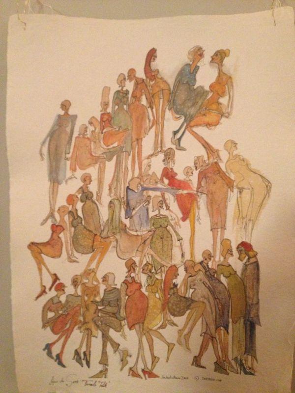«Druxache»: Caricaturas da Michaela Maria Drux.