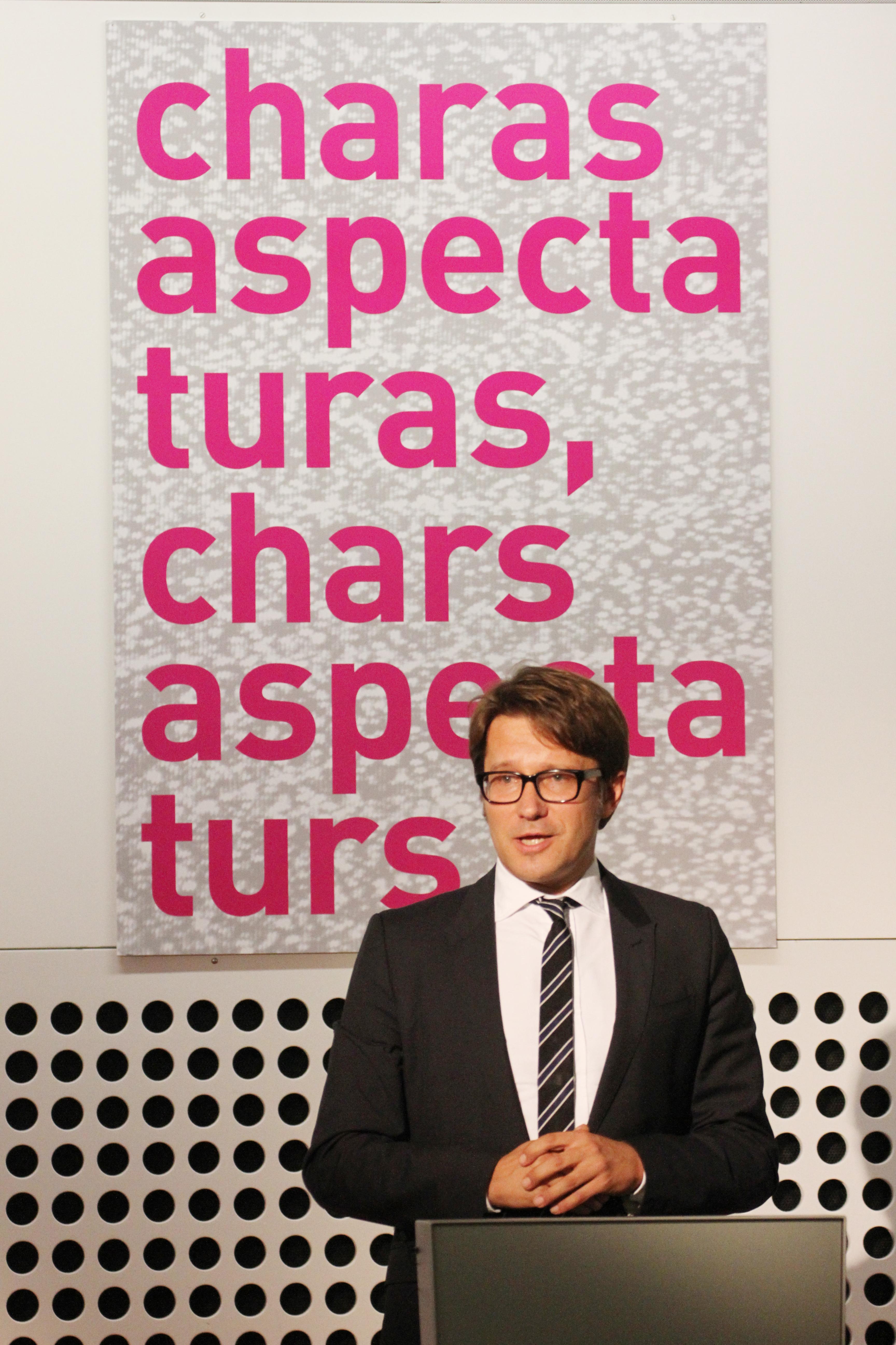Andrew Holland, directur da la fundaziun da cultura Pro Helvetia.