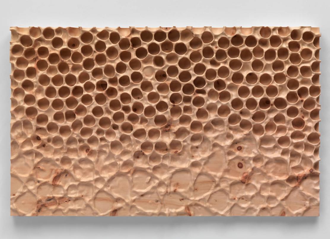 Lavur da Mirko Baselgia: Midada da structura pine-wood (pinus cembra).