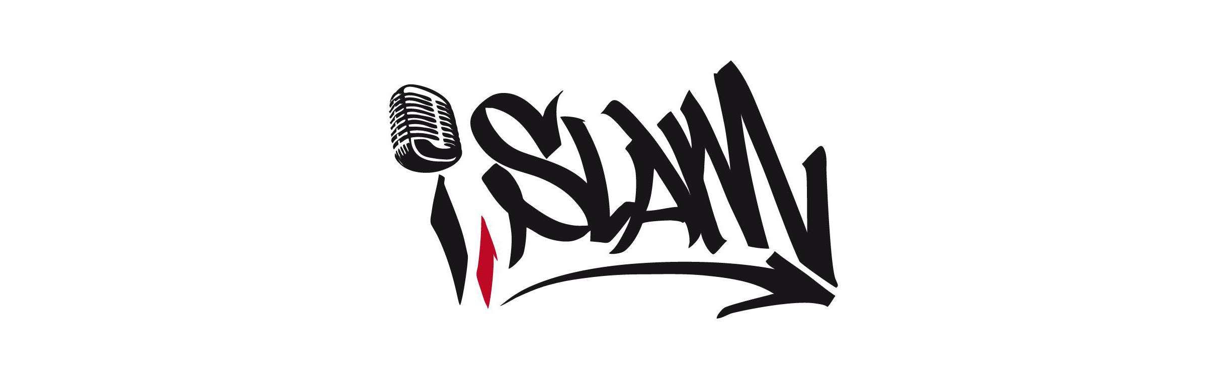 Logo dal i, slam – il slam poetry muslim.