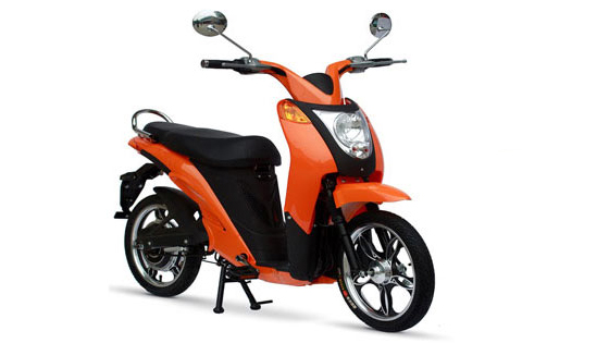 In nov trend, il moped electric.