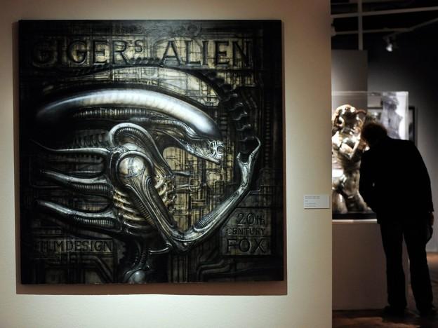 ALIEN da l'artist H.R. Giger.