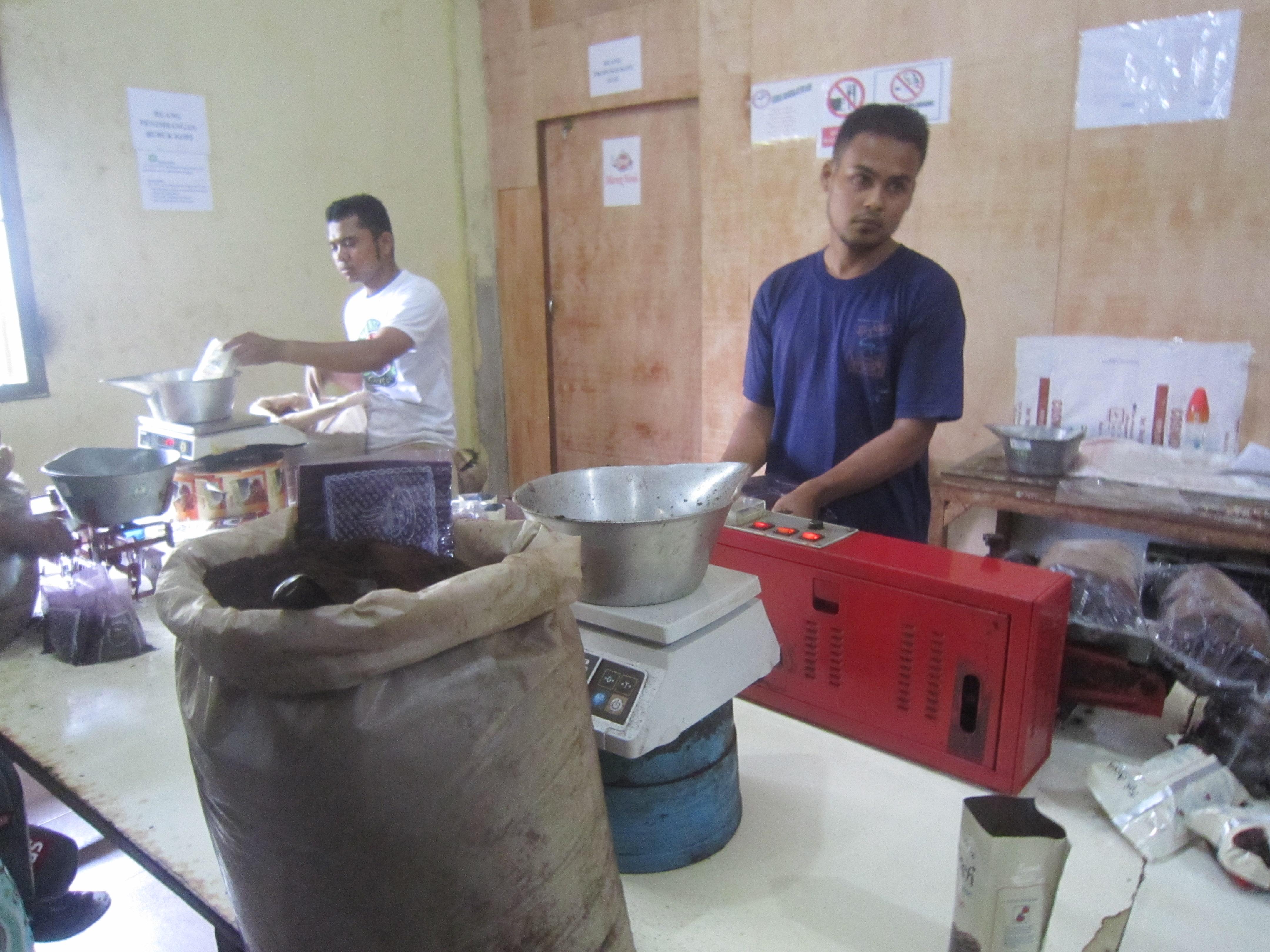 Producziun da café.