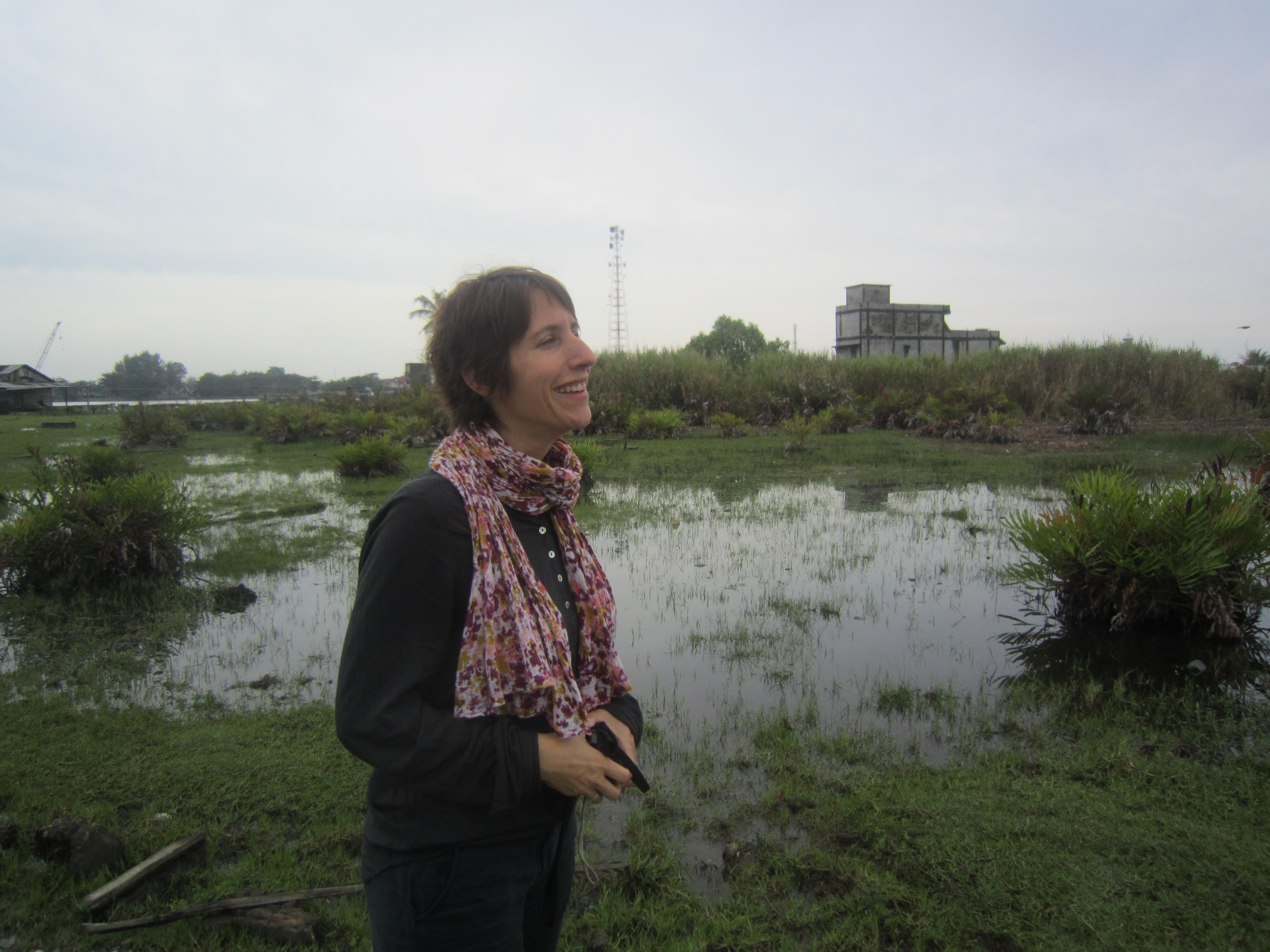 Annina Feller da la Caritas ch'ha menà il project da translocaziun.