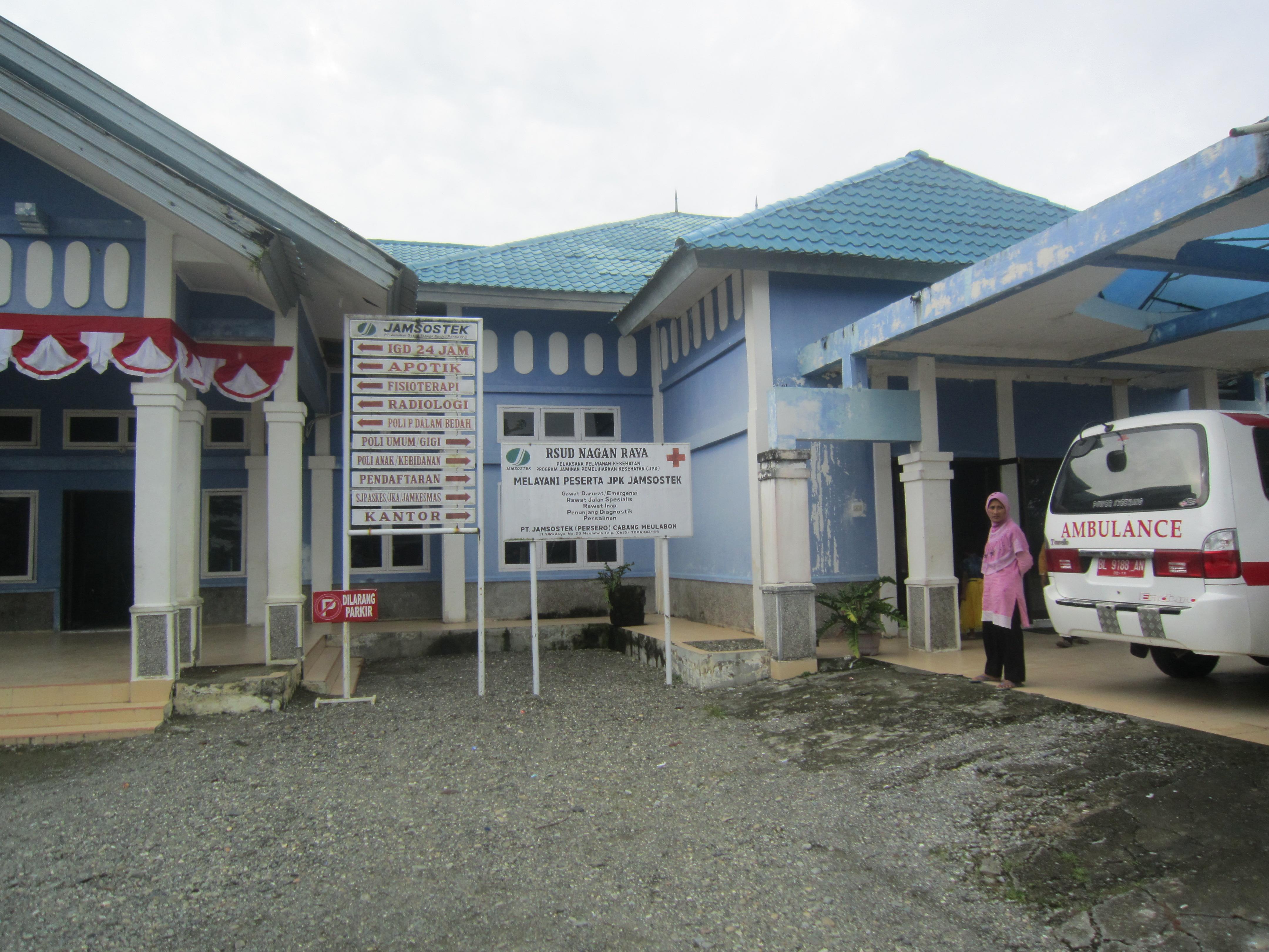 Spital da Nagan Raya.
