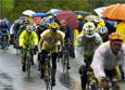 Ciclists cun la mondura da plievgia