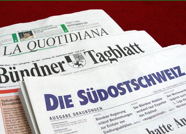Tgè capita cun l'Agentura da novitads Rumantscha ANR en cas che Lebrument lascha murir la Quotidiana ed il Bündner Tagblatt