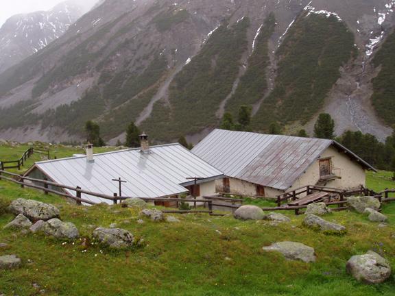 Chamona Alp Sprella en Val Mora, Müstair